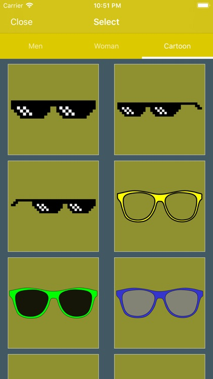 Stylish Glasses & Cap Photos screenshot-3
