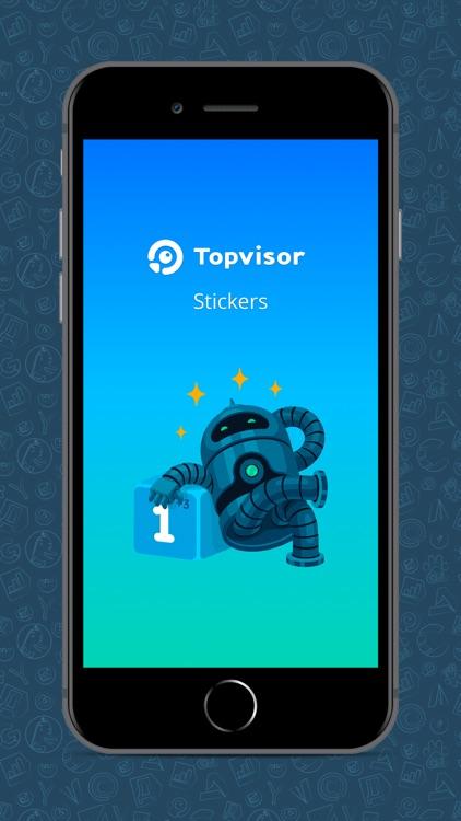 Topvisor Stickers