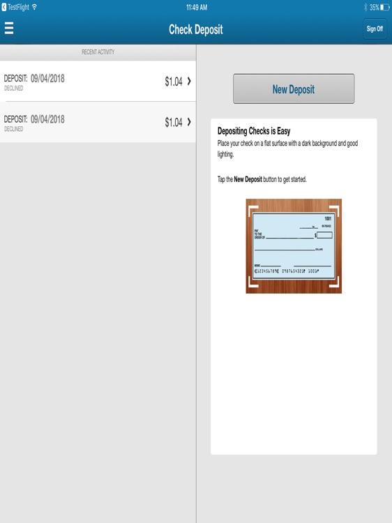 GBC Int'l Bank Business iPad screenshot-4