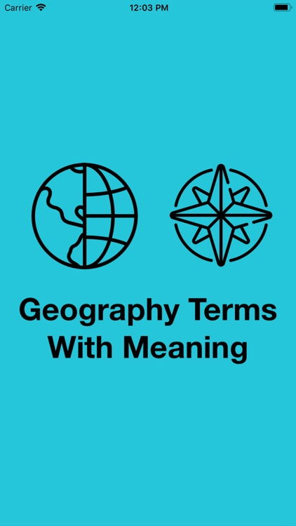 Geography Terms With Meaning