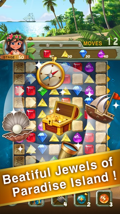 Paradise Jewel: Match-3 Puzzle screenshot-4