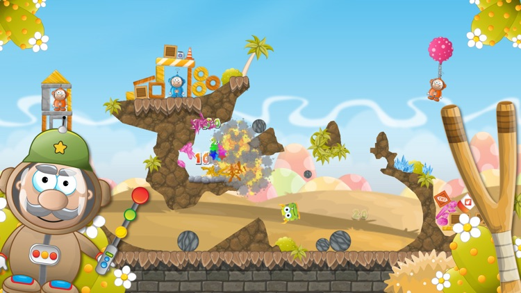 Slingshot Monsters screenshot-4