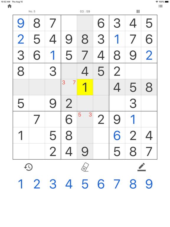 Daily Sudoku - Brain Training screenshot 6