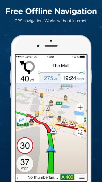 Navmii Offline GPS South Korea