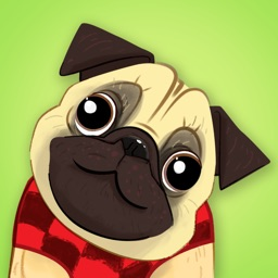 Pug Dog Emoji Stickers