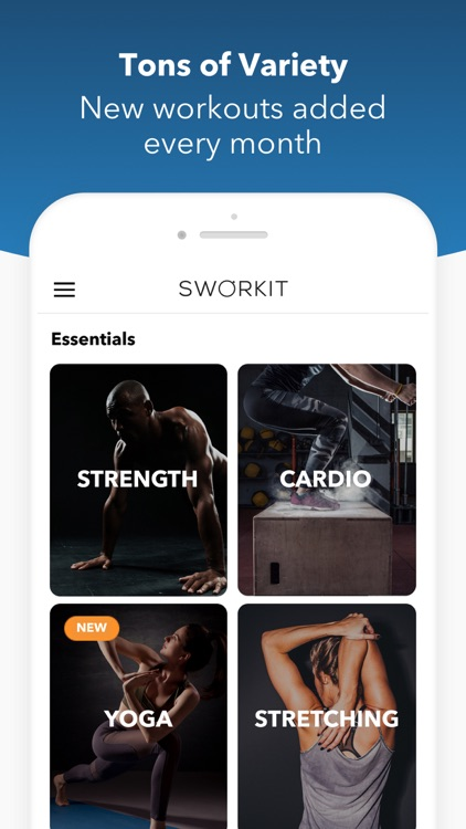 Sworkit Fitness screenshot-4