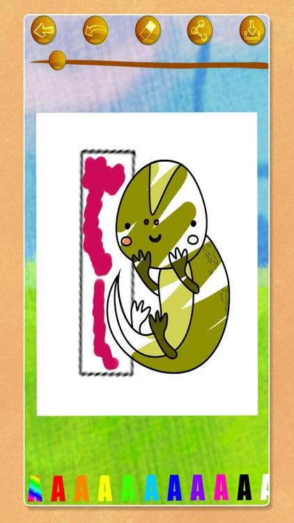 ABC coloring book games . screenshot-3