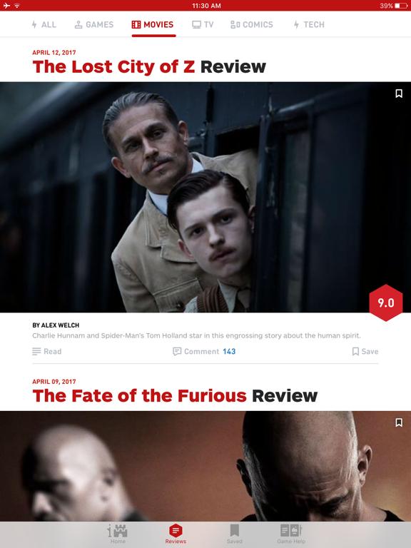 IGN: Video Game News, Reviews, Guides screenshot