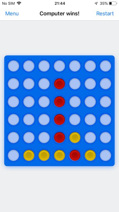 Four In A Row ◎ Screenshot