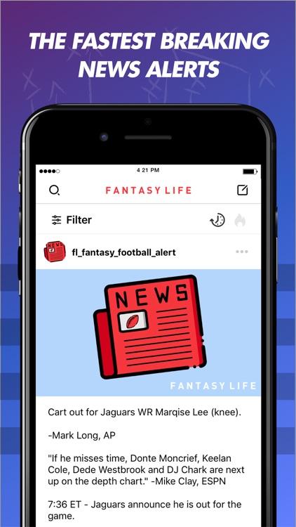 Fantasy Life Sports Community screenshot-0