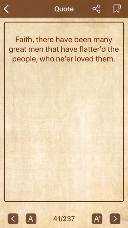 William Shakespeare Quote screenshot-4