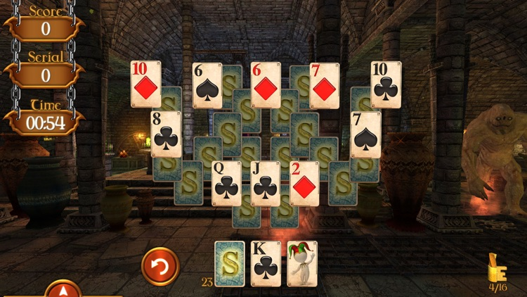 Solitaire Dungeon Escape 2 screenshot-4