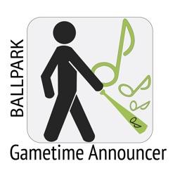 Gametime Announcer Ballpark