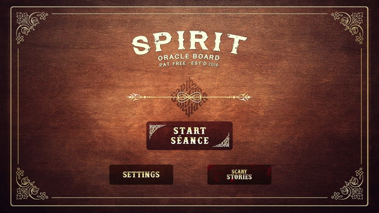 Spirit Board (very scary game)
