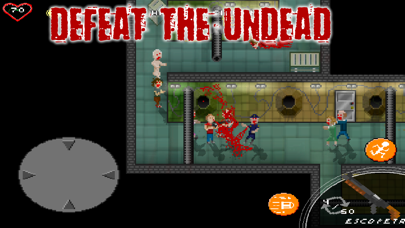 Screenshot from Dead Chronicles: pixel zombies