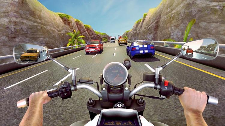 Highway Bike Racing Simulator