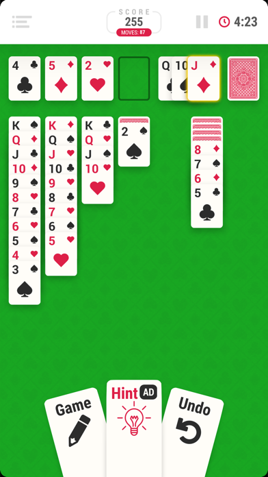 Solitaire Infinite - Card Game screenshot 3