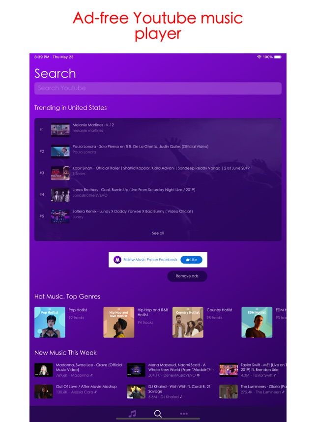 Music Pro - Play Youtube Music on the App Store