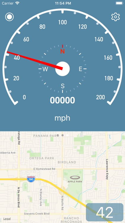 Speedometer Simple screenshot-4