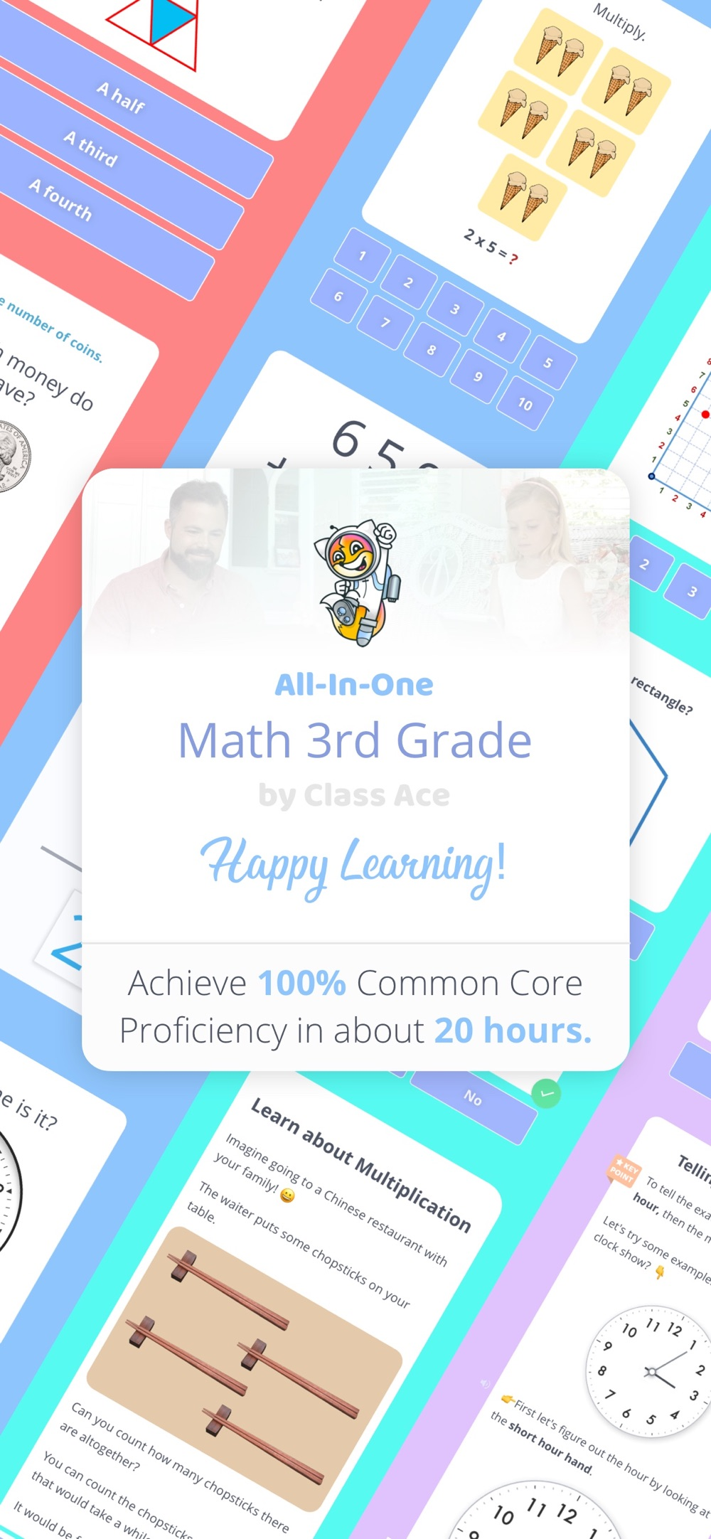 All-In-One Math 3rd Grade