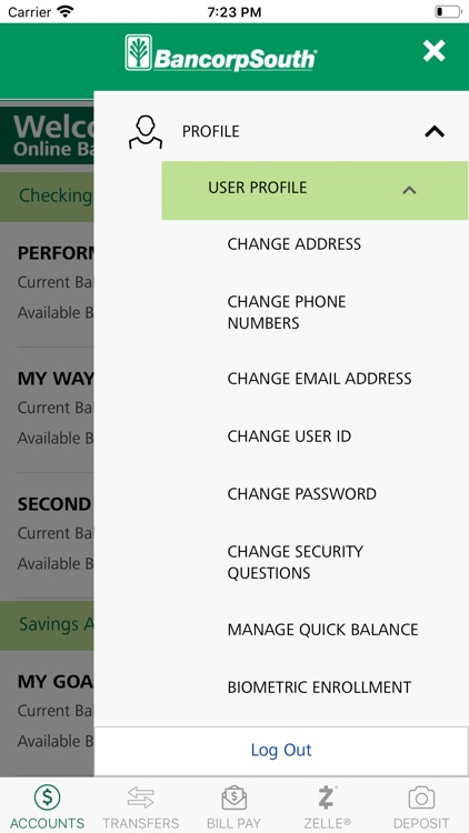 BancorpSouth Mobile screenshot-7