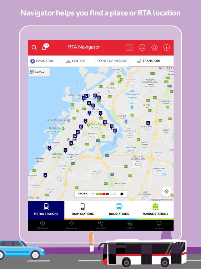 RTA Dubai on the App Store