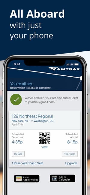 Amtrak on the App Store