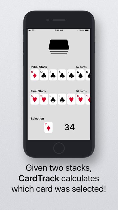 Screenshot #1 pour CardTrack - The Card Tracker