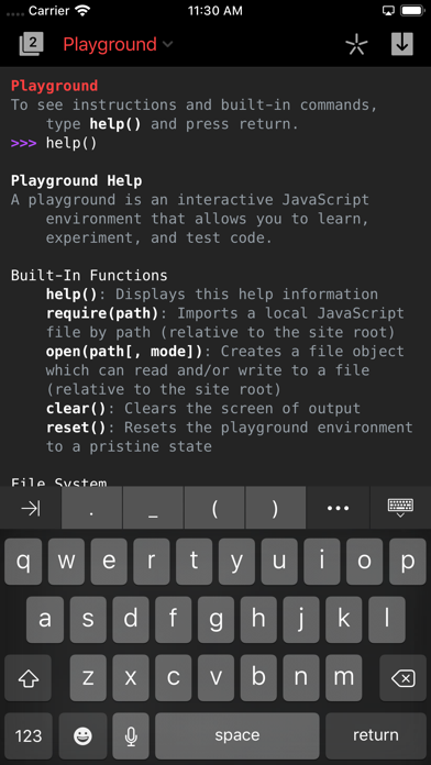 Code Editor by Panic Screenshot on iOS
