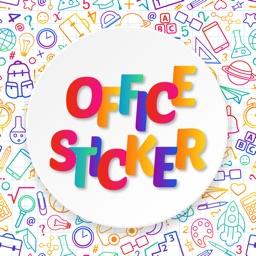 Office Works Sticker