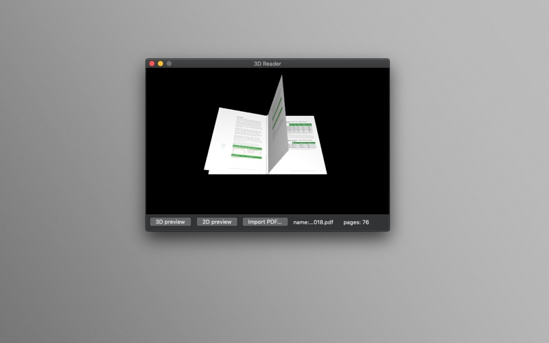 3D Reader for Mac