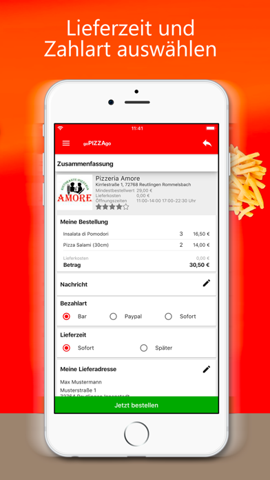 goPIZZAgo - Essen bestellen screenshot 7