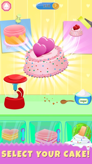 Ice Cream Cake Baker Shop screenshot #2