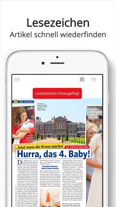 Neue Post Epaper review screenshots