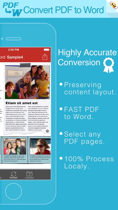 PDF から Wordのスクリーンショット1