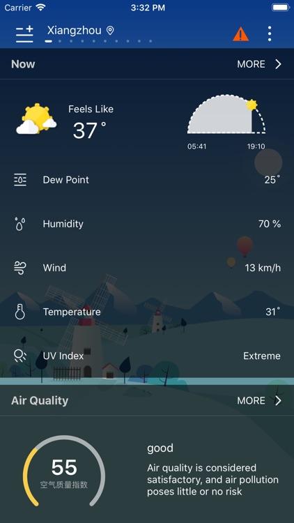 Weather - Live Weather & Radar screenshot-5