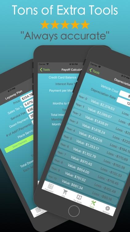 Discount Calculator PRO % SALE screenshot-5