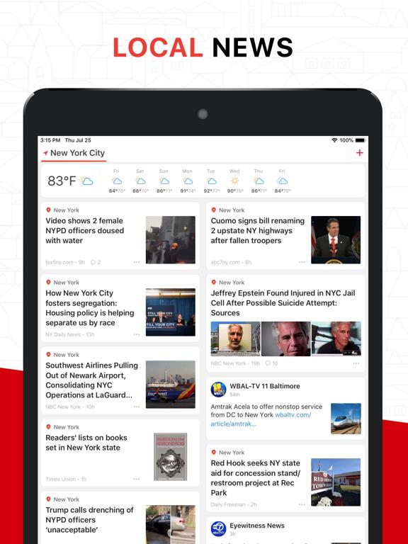 iPad Image of News Break: Local & Breaking