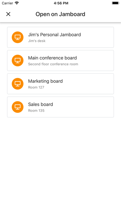 Jamboard Screenshot