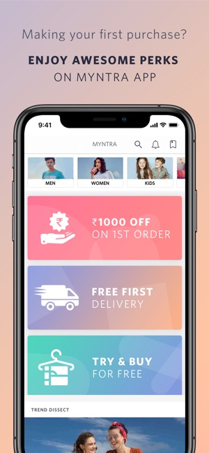 the best attitude 158ed 43387 Myntra - Fashion Shopping App on the App Store