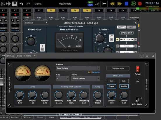 Vocal Harmonizer AUv3 Plugin | Apps | 148Apps