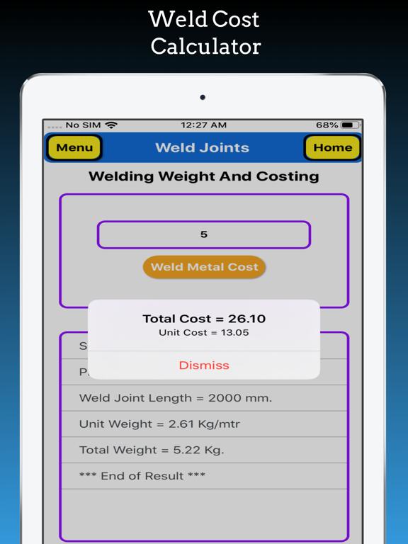 Welding Weight Calculator Pro screenshot 19