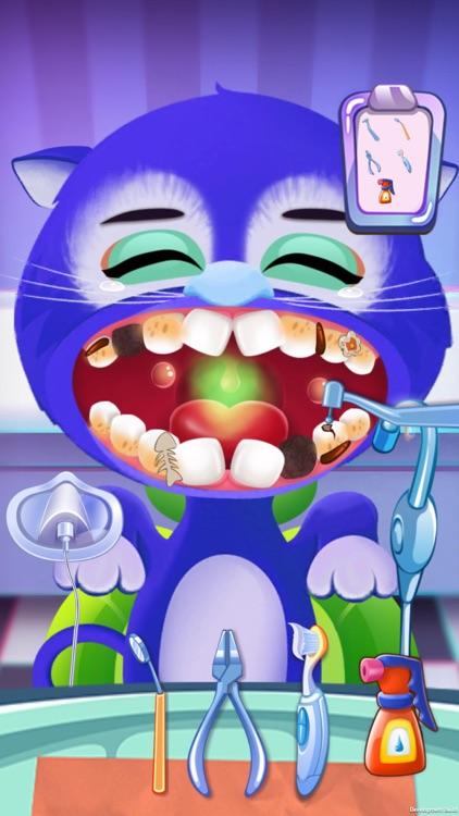 Kitty Cat Dentist