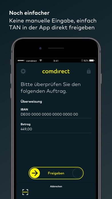 comdirect photoTAN AppScreenshot von 3