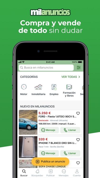Milanuncios - Comprar y vender screenshot-0