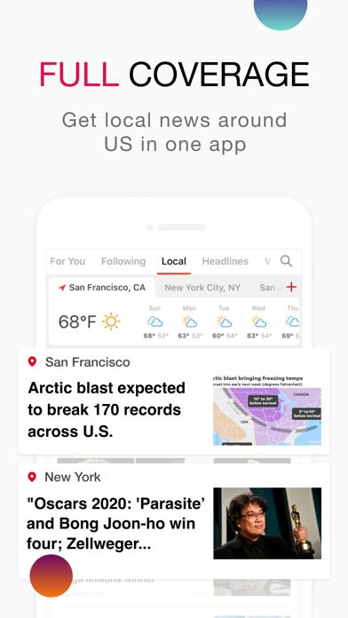 News Break: Local & Breaking Screenshot