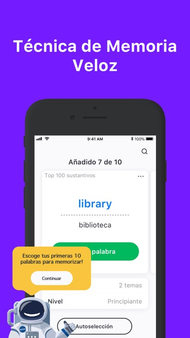 Screenshot for Rocka: Aprender inglés in Chile App Store