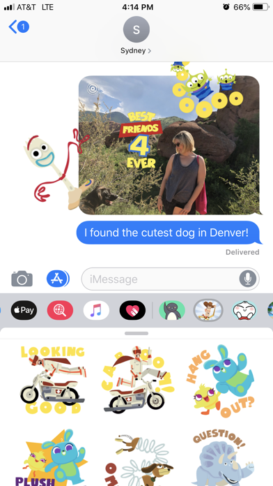 Pixar Stickers: Toy Story 4 screenshot 4