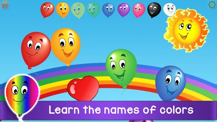 Kids Balloon Pop Language Game screenshot-4