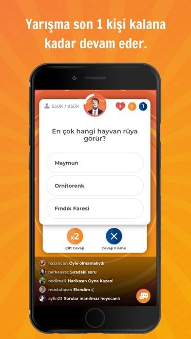 Screenshot for Oyna Kazan - Bilgi Yarışması in Turkey App Store